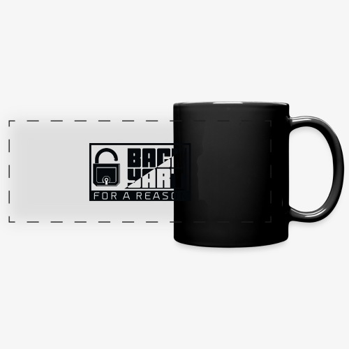 backart - for a reason - Full Colour Panoramic Mug