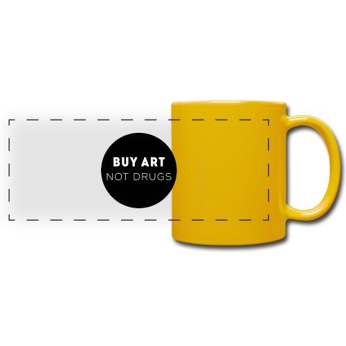 Buy Art Not Drugs - Panoraamamuki värillinen