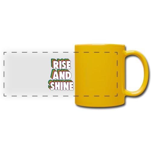 Rise and Shine Meme - Full Color Panoramic Mug