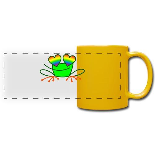 Pride Frog in Love - Full Color Panoramic Mug