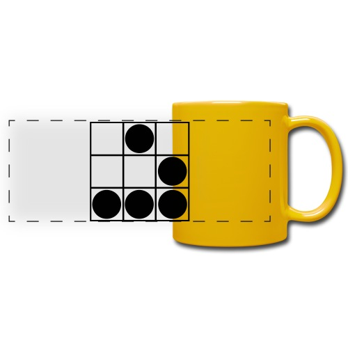 Glider-Badge (small) - Full Color Panoramic Mug