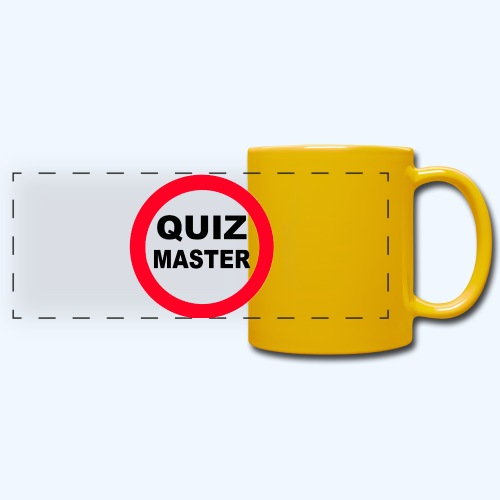 Quiz Master Stop Sign - Full Color Panoramic Mug