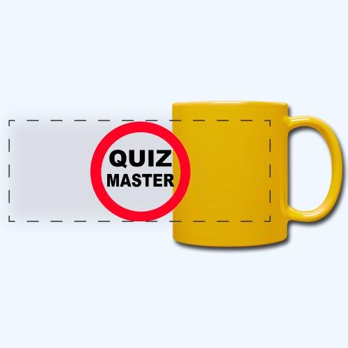Quiz Master Stop Sign - Full Colour Panoramic Mug