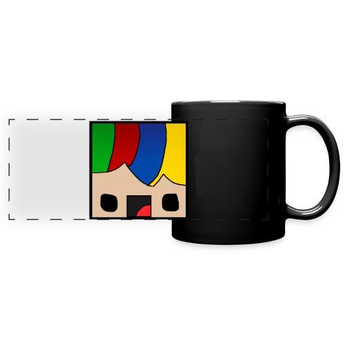 ProfSaurusCartoon - Panoramatasse farbig