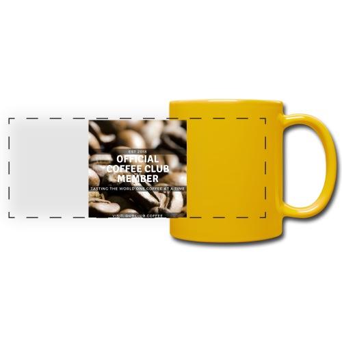 Official Coffee Club Member - Full Colour Panoramic Mug