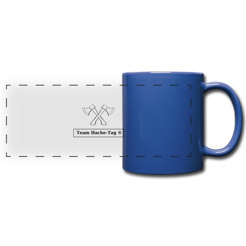 Logo Team Hache-Tag - Mug panoramique uni