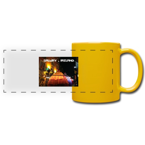GALWAY IRELAND MACNAS - Full Color Panoramic Mug