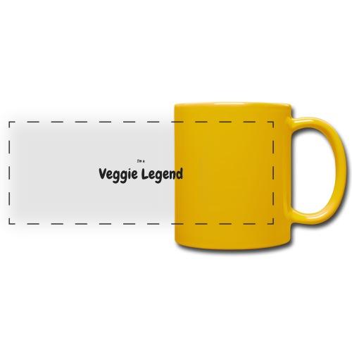 I'm a Veggie Legend - Full Color Panoramic Mug