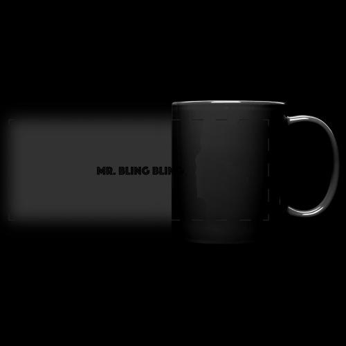 bling bling - Panoramatasse farbig
