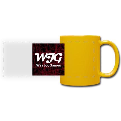 T-shirt WJG logo - Panoramamok gekleurd