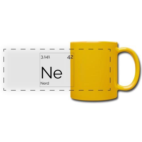 Mendeleïev Nerd - Mug panoramique uni