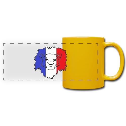 Lion France - Mug panoramique uni