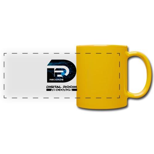 Digital Room Records Official Logo effect - Full Color Panoramic Mug