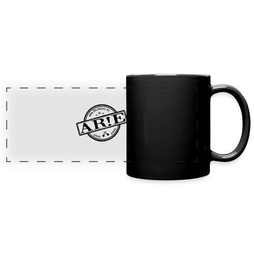 Backdrop AR E stempel zwart gif - Panoramamok gekleurd