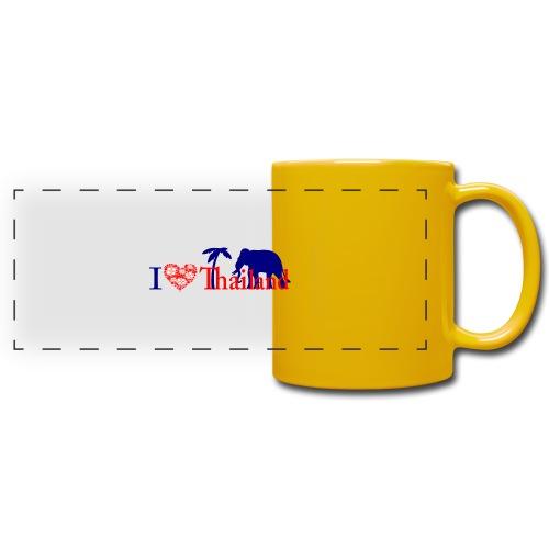 I love Thailand - Full Colour Panoramic Mug