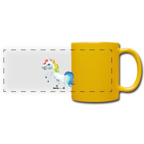 Regenboog eenhoorn - Panoramamok gekleurd