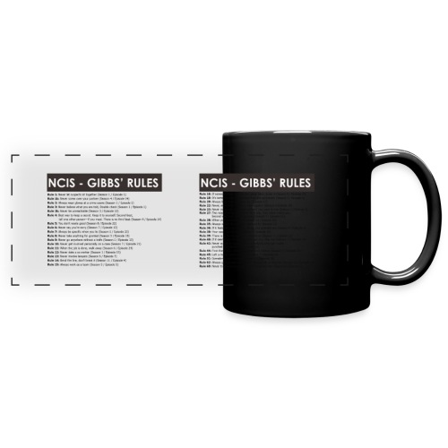 GIBBS RULES - Full Colour Panoramic Mug