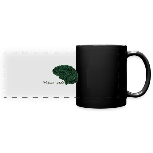 Piensa verde - Taza panorámica de colores