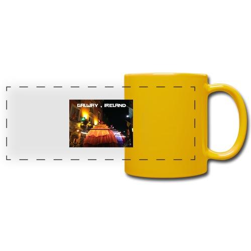 GALWAY IRELAND MACNAS - Full Colour Panoramic Mug
