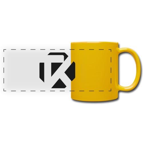 Logo TK Noir - Mug panoramique uni