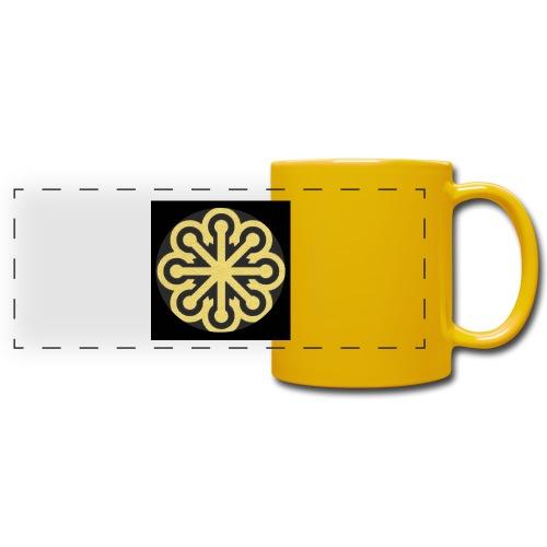 BGLogoGOLD - Full Color Panoramic Mug