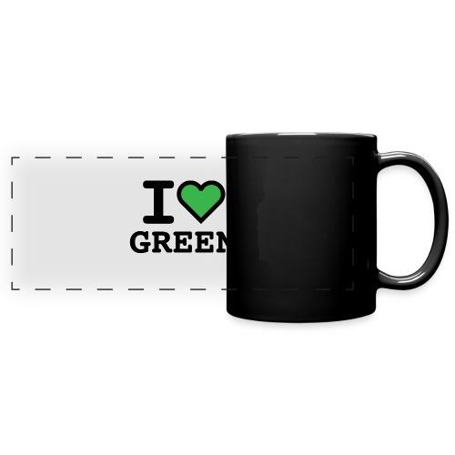 i-love-green-2.png - Tazza colorata con vista