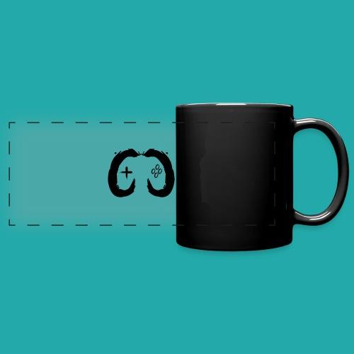 Crowd Control Controller Logo Black Large - Full Colour Panoramic Mug