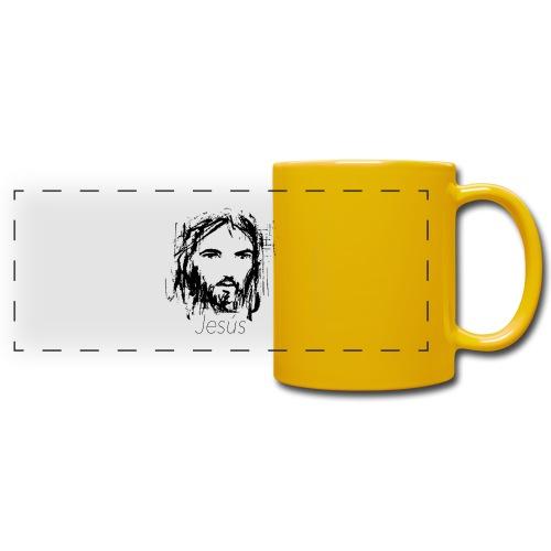 Jesus - Taza panorámica de colores