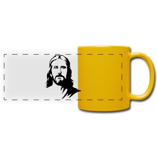 jesus - Tazza colorata con vista