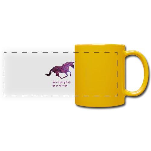 La licorne cosmique - Mug panoramique uni
