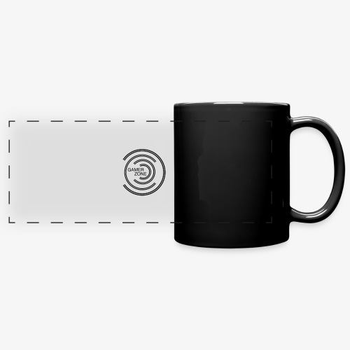 logo gamer zone - Mug panoramique uni