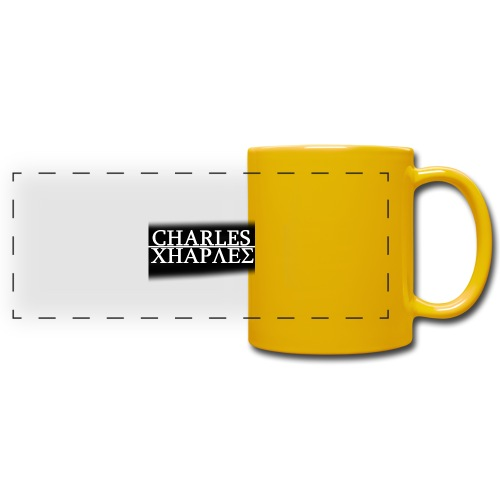 CHARLES CHARLES BLACK AND WHITE - Full Color Panoramic Mug