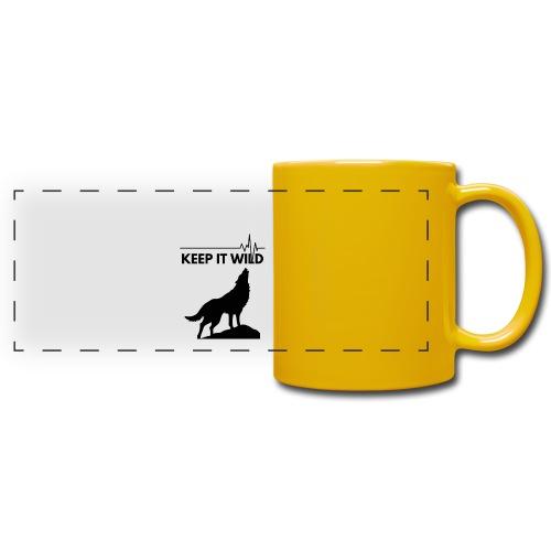 Keep it wild - Panoramatasse farbig
