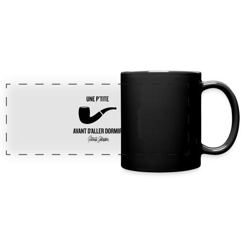 Une p'tite pipe - Mug panoramique uni