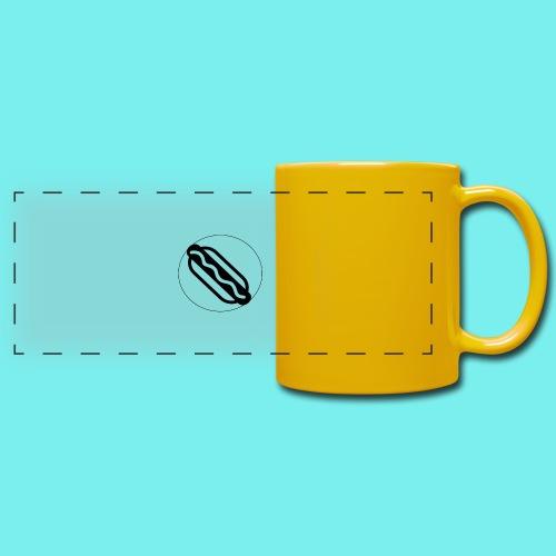 Hotdog logo - Panoramakrus, farvet