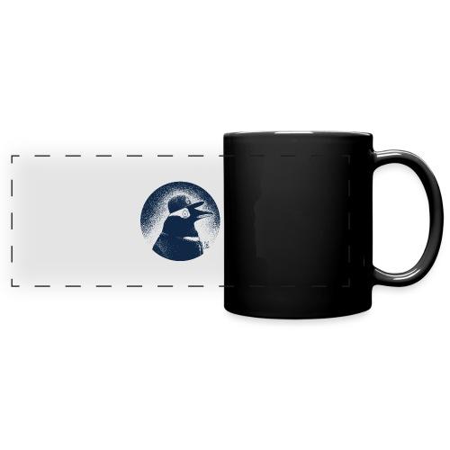 Pinguin dressed in black - Full Colour Panoramic Mug