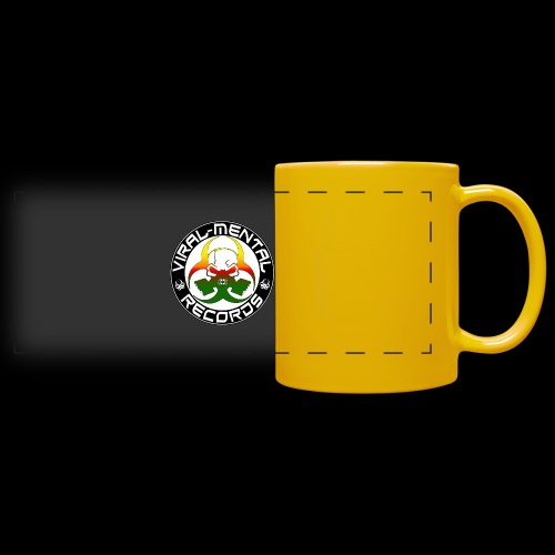 Viral Mental Records Logo - Full Color Panoramic Mug