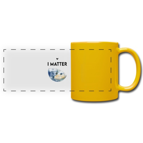 I matter. (Earth Edition) - Panoramatasse farbig