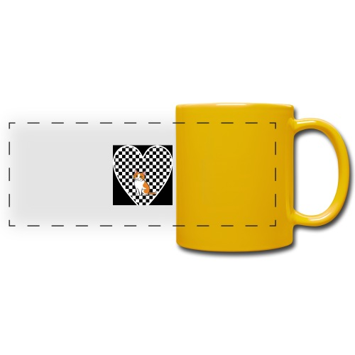 Charlie the Chess Cat - Full Color Panoramic Mug