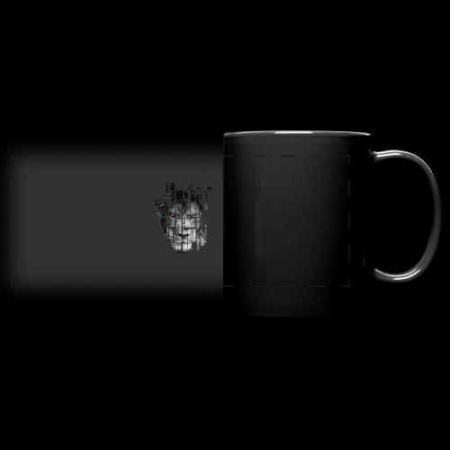 Pixel Lion Tattoo Inspire - Full Colour Panoramic Mug