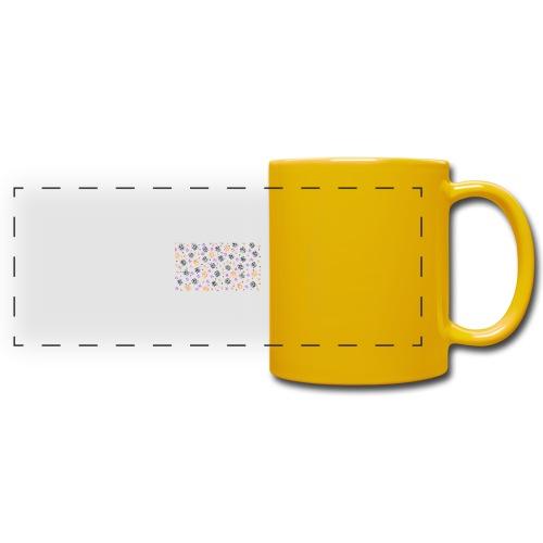 buntes Muster Abstrakt - Panoramatasse farbig