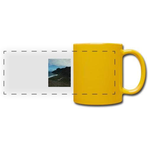 telefon obraz - Kolorowy kubek panoramiczny