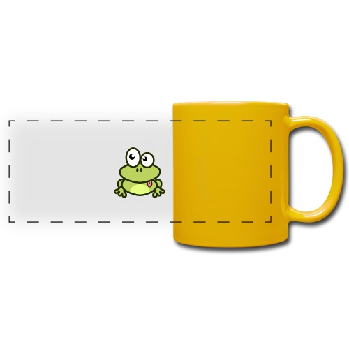 Frog Tshirt - Full Color Panoramic Mug