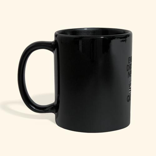 EVERY DRAMA black png - Full Colour Panoramic Mug