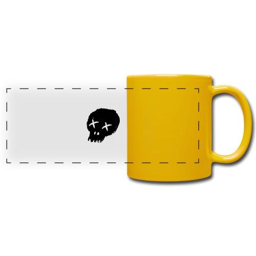 blackskulllogo png - Full Color Panoramic Mug