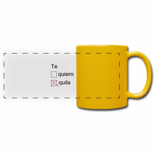 tequila - Mug panoramique uni