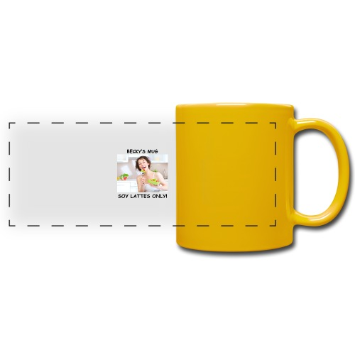 Becky's Mug - Full Colour Panoramic Mug