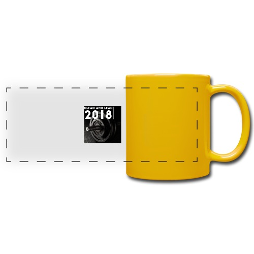 Clean and Lean 2018 - Full Color Panoramic Mug