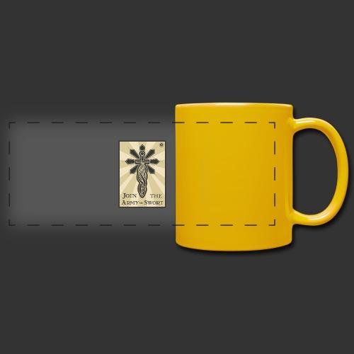 Join the army jpg - Full Colour Panoramic Mug