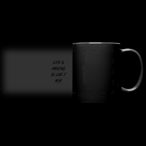 Life is amazing Samsung Case - Full Colour Panoramic Mug